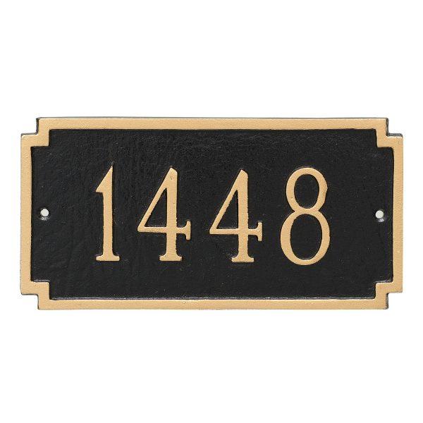 Madison Petite Address Sign Plaque