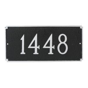Madison Estate One Line Address Sign Plaque