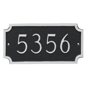Princeton Petite Address Sign Plaque