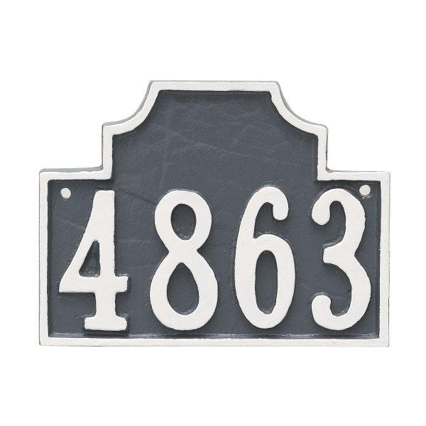 Beckford Petite Address Sign Plaque