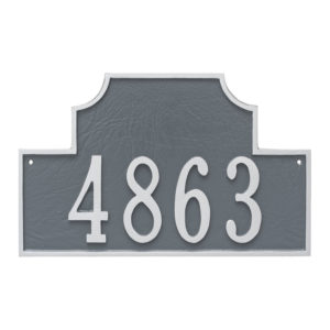 Beckford Estate One Line Address Sign Plaque