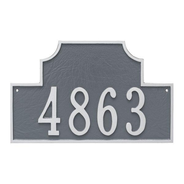 Beckford Standard One Line Address Sign Plaque