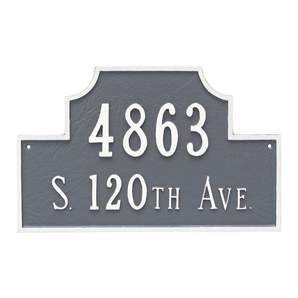 Beckford Estate Two Line Address Sign Plaque