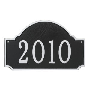 Fitzgerald Standard One Line Address Sign Plaque