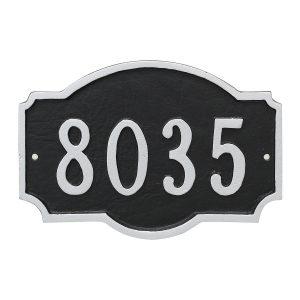 Montague Petite Address Sign Plaque
