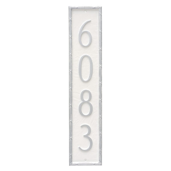 Washington Column Address Sign Plaque