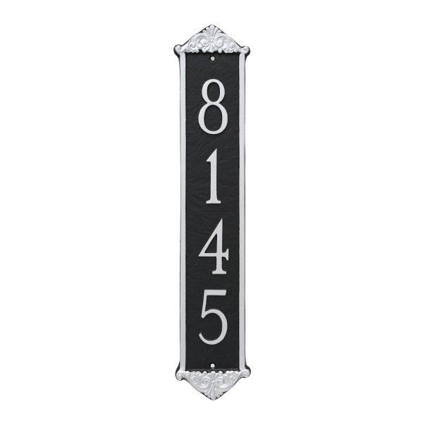 Scroll Column Address Sign Plaque