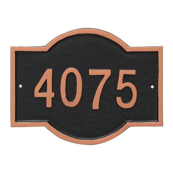 Canterbury Rectangle Petite Address Sign Plaque