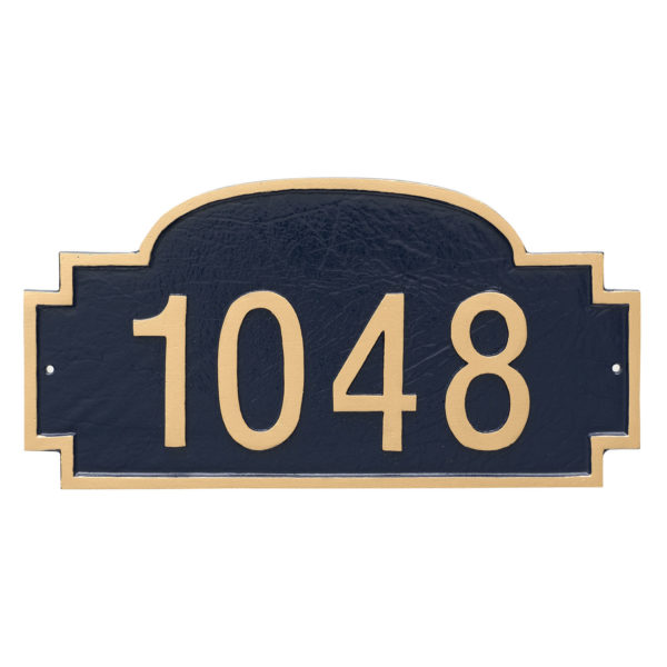 Chesterfield One Line Standard Address Sign Plaque