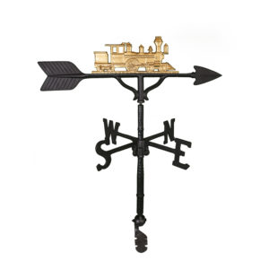 "32"" Aluminum Train Weathervane"