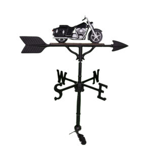 "32"" Aluminum Motorcycle Weathervane"