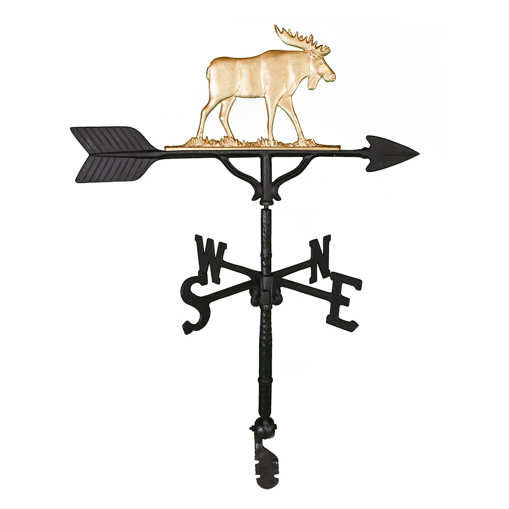 "32"" Aluminum Moose Weathervane"