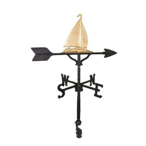 "32"" Aluminum Sailboat Weathervane"