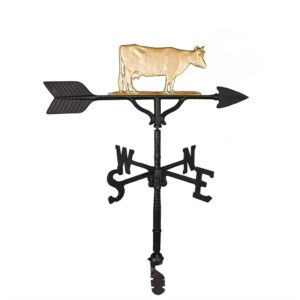 "32"" Aluminum Cow Weathervane"