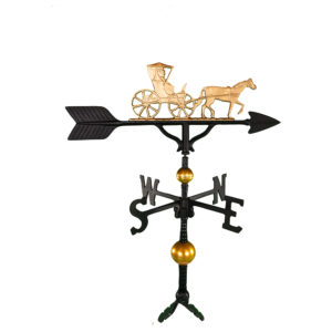 "32"" Aluminum Deluxe Country Doctor Weathervane"