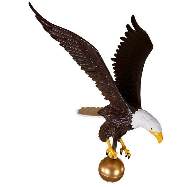 """24"""" Aluminum Flagpole Eagle"""