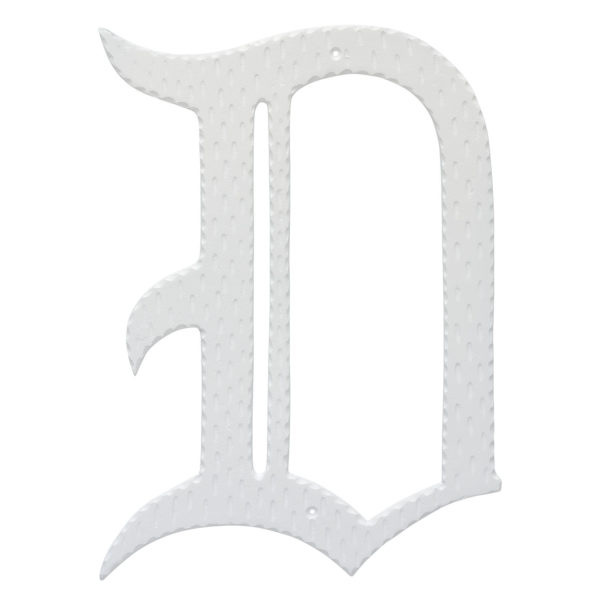 """16"""" Home Accent Individual Monogram Letters A-Z White"""