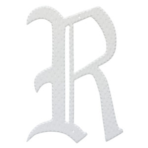 "16"" Home Accent Individual Monogram Letters A-Z White"